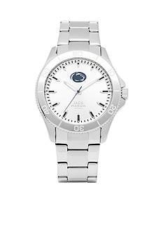 Jack Mason Men's Penn State Sport Bracelet Silver Dial Watch