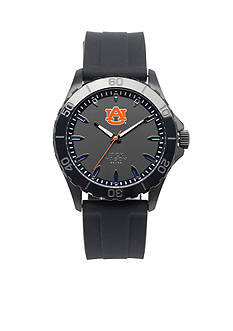 Jack Mason Men's Auburn Blackout Silicone Strap Watch