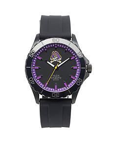 Jack Mason Men's East Carolina Blackout Silicone Strap Watch