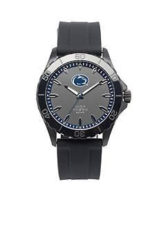 Jack Mason Men's Penn State Blackout Silicone Strap Watch