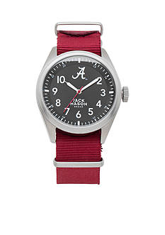 Jack Mason Men's Alabama Nato Solid Strap Watch