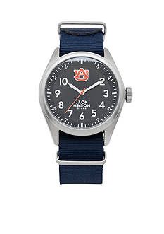 Jack Mason Men's Auburn Nato Solid Strap Watch