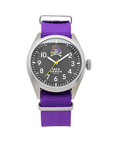 Jack Mason Men's East Carolina Nato Solid Strap Watch