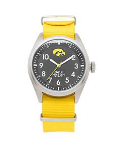 Jack Mason Men's Iowa Nato Solid Strap Watch