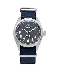 Jack Mason Men's Penn State Nato Solid Strap Watch