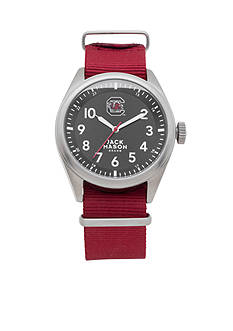 Jack Mason Men's South Carolina Nato Solid Strap Watch