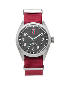 Jack Mason Men's Stanford Nato Solid Strap Watch