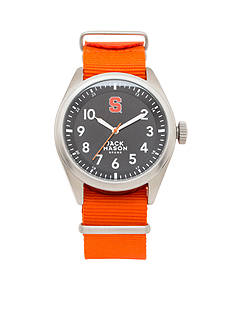 Jack Mason Men's Syracuse Nato Solid Strap Watch