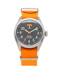 Jack Mason Men's Tennessee Nato Solid Strap Watch