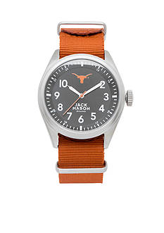 Jack Mason Men's Texas Nato Solid Strap Watch