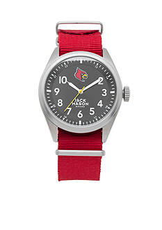Jack Mason Men's Louisville Nato Solid Strap Watch