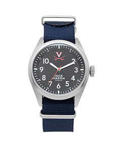 Jack Mason Men's Virginia Nato Solid Strap Watch