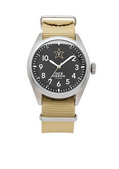Jack Mason Men's Vanderbilt Nato Solid Strap Watch