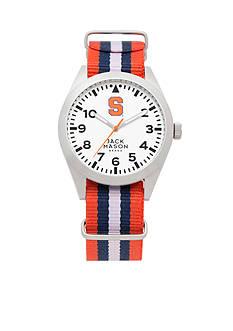 Jack Mason Men's Syracuse Nato Striped Strap Watch