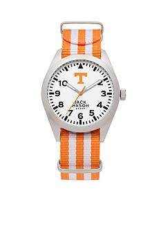 Jack Mason Men's Tennessee Nato Striped Strap Watch