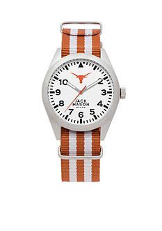 Jack Mason Men's Texas Nato Striped Strap Watch