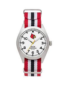 Jack Mason Men's Louisville Nato Striped Strap Watch