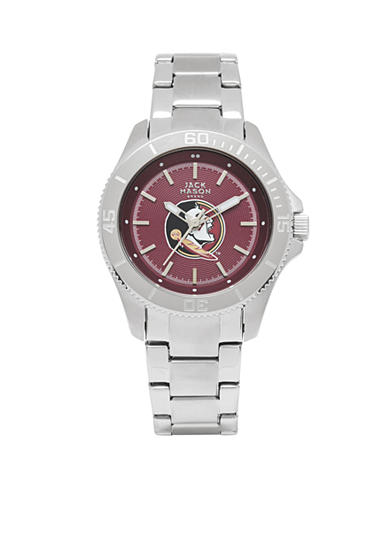 Women's Florida State Sport Bracelet Team Color Dial Watch