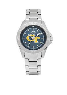 Jack Mason Women's Georgia Tech Sport Bracelet Team Color Dial Watch