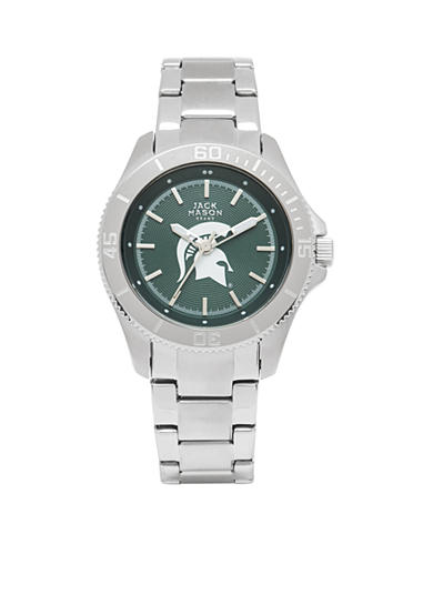 Women's Michigan State Sport Bracelet Team Color Dial Watch