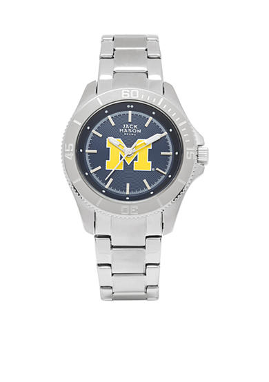 Women's Michigan Sport Bracelet Team Color Dial Watch
