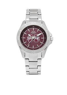 Jack Mason Women's Mississippi State Sport Bracelet Team Color Dial Watch