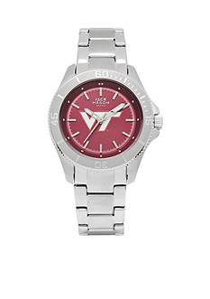 Jack Mason Women's Virginia Tech Sport Bracelet Team Color Dial Watch