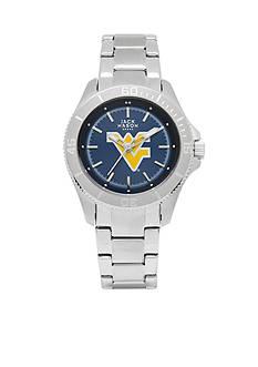 Jack Mason Women's West Virginia Sport Bracelet Team Color Dial Watch