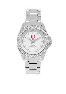Jack Mason Women's Indiana Glitz Sport Bracelet Watch