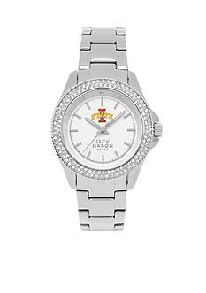 Jack Mason Women's Iowa State Glitz Sport Bracelet Watch