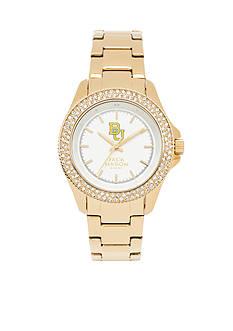 Jack Mason Women's Baylor Gold Tone Glitz Sport Bracelet Watch