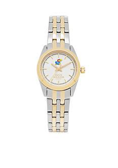 Jack Mason Women's Kansas Two Tone Dress Bracelet Watch