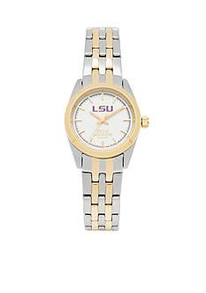 Jack Mason Women's LSU Two Tone Dress Bracelet Watch
