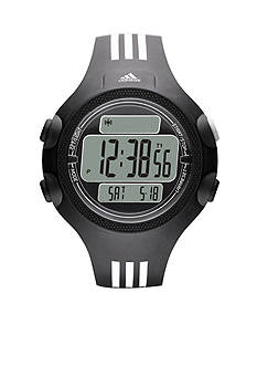 adidas Pefromance Black Silicone Questra Digital Watch