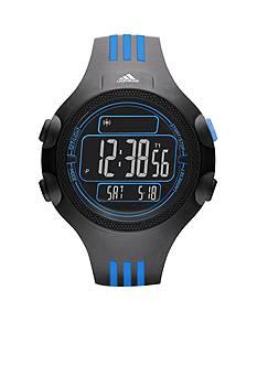 adidas Performance Black Silicone Questra Digital Watch