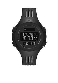 adidas Black Polyurethane Questra Digital Watch