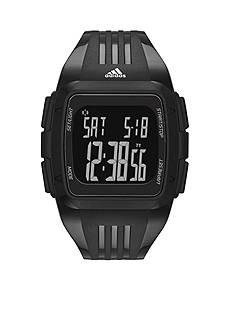 adidas Black Polyurethane Duramo Digital Watch