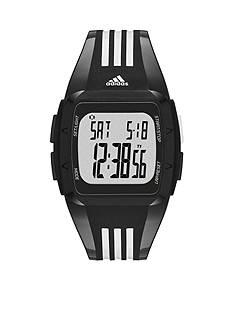 adidas Black and White Polyurethane Duramo Digital Watch