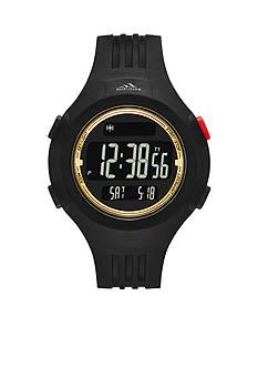adidas Black and Gold Polyurethane Questra Digital Watch