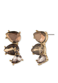 Lonna & Lilly Gold-Tone and Brown Gold-Tone Ear Crawler
