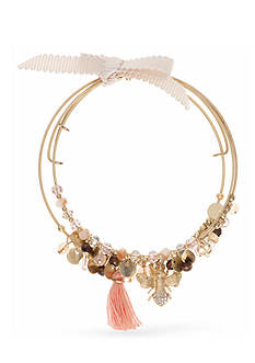 Lonna & Lilly Gold-Tone Bee Bangle Set