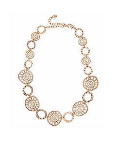 Lonna & Lilly Gold-Tone Filigree Collar Necklace