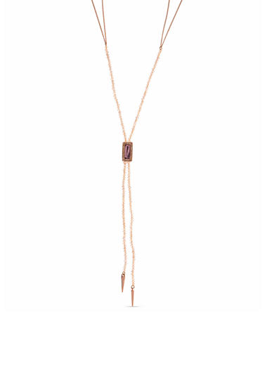 Lonna & Lilly Rose Gold-Tone Beaded Y Necklace