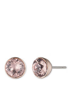 Lonna & Lilly Rose Gold-Tone Crystal Stud Earrings