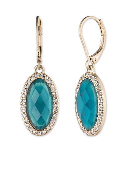 Lonna & Lilly Gold-Tone Stone Drop Earring