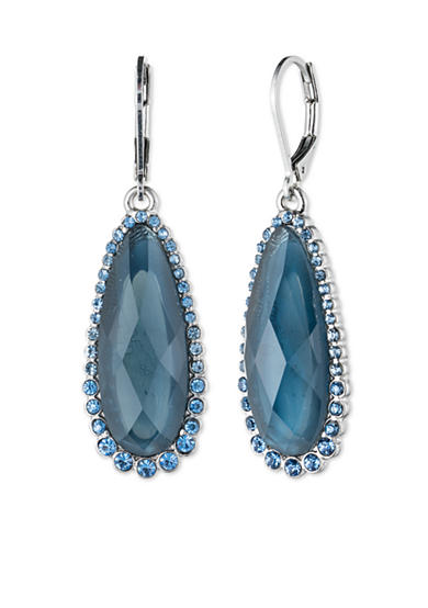 Lonna & Lilly Silver-Tone Stone Drop Earring