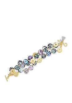 Lonna & Lilly Gold-Tone Shell Bracelet