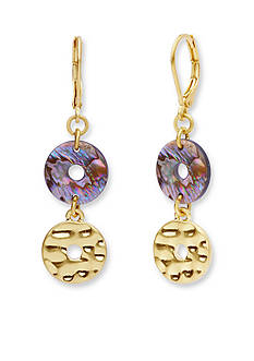 Lonna & Lilly Gold-Tone Double Drop Earrings
