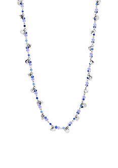 Lonna & Lilly Silver-Tone Blue Long Necklace