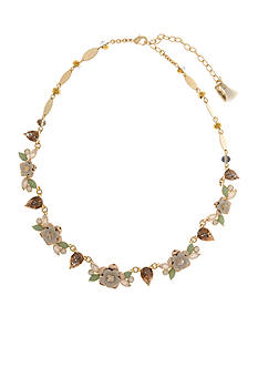 Lonna & Lilly Gold-Tone Flower Collar Necklace